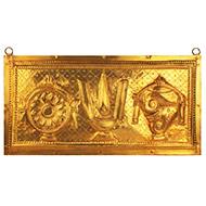 Balaji Emblem on Brass Plate