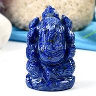 Lapis Lazuli Ganesha-83 gms
