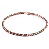 Copper Iron Anklet for Stability - Design - IV