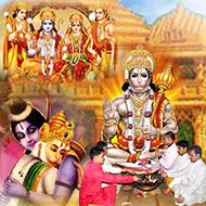 Sundarkand at Sitaram das temple