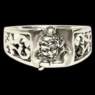 Bal Krishna Silver Ring