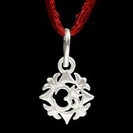 Designed OM Locket in Silver