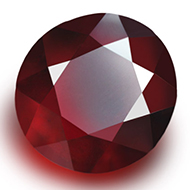 Gomed - India - 4.80 Carats - Round