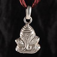 Ganesh Locket in Pure Silver - Design XVII