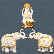Gajalaxmi Idol