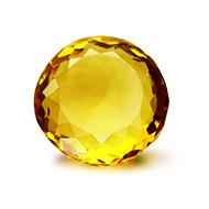 Yellow Citrine - 6 Carats - Round