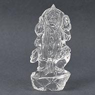 Sphatik Crystal Hanuman - 89 gms