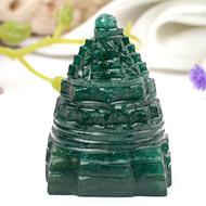 Green Jade Shree Yantra - 71 gms