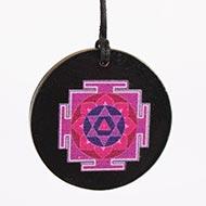 Shiv Yantra locket on Rosewood