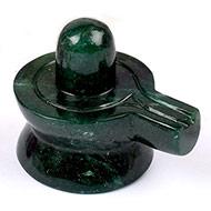 Green Jade Shivlinga-161 gms