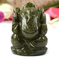 Unakite Ganesha - 117 gms