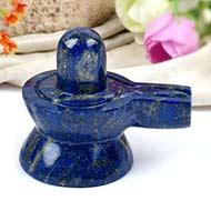 Lapis Lazuli Shivlingam - 146 gms