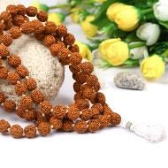 Rudraksha Mala 12mm - Chikna Beads