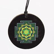 Vishnu Yantra locket on Rosewood