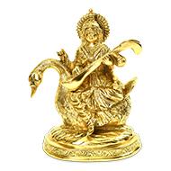 Saraswati on Swan - II