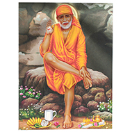 Lord Sai Baba Photo - Large