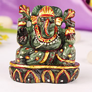 Ganesha in Emerald - 380 carats