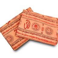 Gayatri Mantra Shawl in soft cotton
