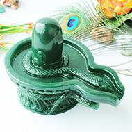 Columbian Green Jade Shivlinga - 822 gms