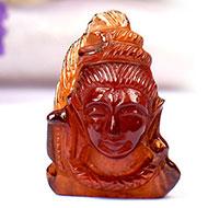 Shiva in Gomed - 29.30 carats