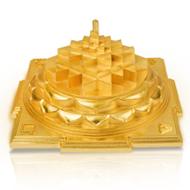 Shree Yantra Maha Meru in Bronze