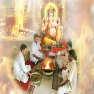 Shree Ganesha Puja Mantra Japa and Yajna (Homam)