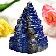 Lapis Lazuli Shree Yantra - 149 gms