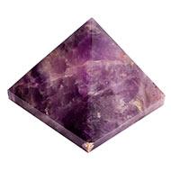 Pyramid in Natural Amethyst - 170 gms
