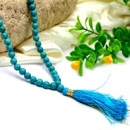 Natural Turquoise Mala - 6 mm