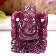 Ruby Ganesh - 172 carats
