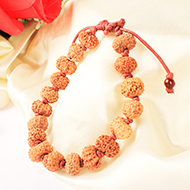 11 mukhi Ekadash Rudra Bracelet in thread- Java