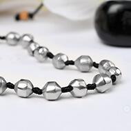 Pure Siddha Parad Mala - 32 beads