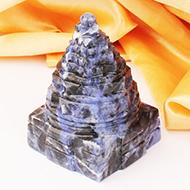 Shree Yantra in Blue Sodalite- 115 gms