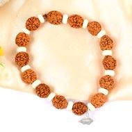 5 mukhi Guru bracelet from Java - Design I