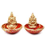 Laxmi - Ganesh diya