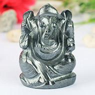 Hematite Ganesha - 132 gms
