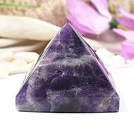 Pyramid in Natural Amethyst - 268 gms