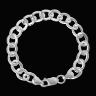 Silver  Chain Bracelet -  Design VI