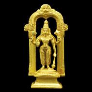 Vishnu Statue in Brass