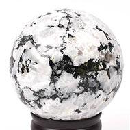 White Snowflake Obsidian Ball - 1.21 kgs