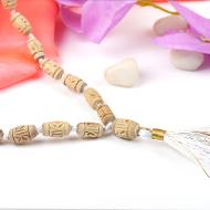 Designer Tulsi mala - 54+1 beads