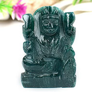 Laxmi in Green Jade - 59 gms