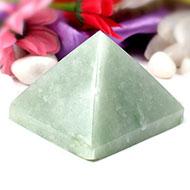 Light Green Jade Pyramid - Big