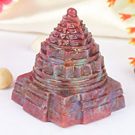Ruby Shree Yantra - 295 gms