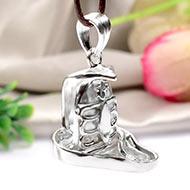 Shiva Locket in Pure Silver - XVI