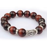 Red Tiger Eye Buddha Bracelet