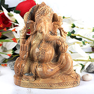 Ganeshji in Picture Jasper - 996 gms
