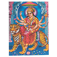 Goddess Durga Maa Photo - Medium