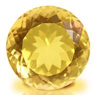 Yellow Citrine - 9 to 11 carats - Round