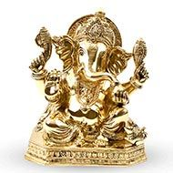 Ganesha in Brass - X